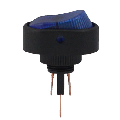 Buy Blue Light Rocker Switch for Racing Sport (DC 12V), Blue for $2.96 in SUNSKY store