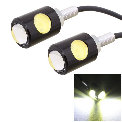 Buy 2 PCS MZ 16mm 6W 250LM White Light COB LED Eagle Eye Light Daytime Running Light for Vehicles for $4.14 in SUNSKY store