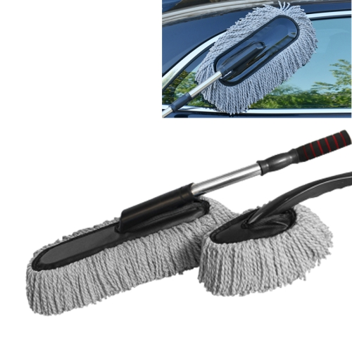 sunsky car cleaning tools car washing dewaxing shan cotton brush mop with retractable. Black Bedroom Furniture Sets. Home Design Ideas
