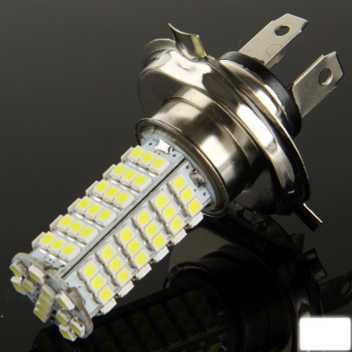 Buy H4 White 102 LED 3528 SMD Car Signal Light Bulb, DC 12V for $2.28 in SUNSKY store