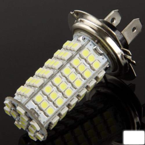 Buy H7 White 102 LED 3528 SMD Car Signal Light Bulb, DC 12V for $2.28 in SUNSKY store