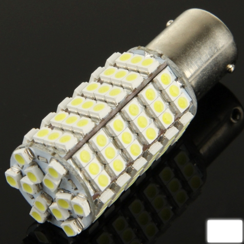 Buy 1156 White 120 LED 3528 SMD Car Signal Light Bulb, DC 12V for $2.28 in SUNSKY store