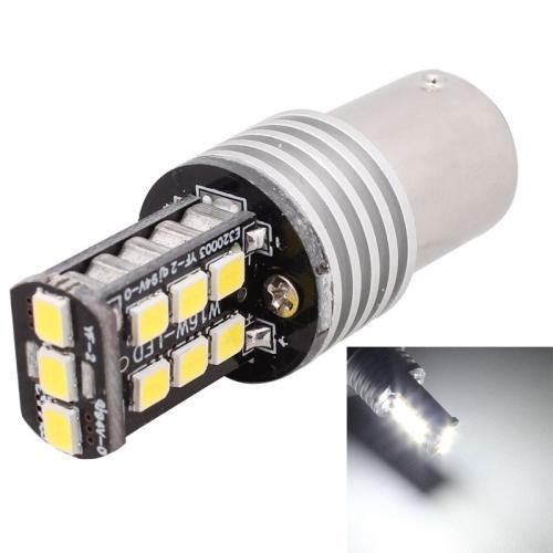 Buy 2 PCS 1156 3W White LED 300LM SMD 2835 Car Rear Fog Lamp / Backup Light for Vehicles, DC 12V for $3.94 in SUNSKY store