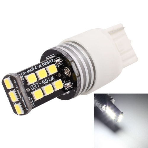 Buy 2 PCS T20 Single Wire 3W White LED 300LM SMD 2835 Car Rear Fog Lamp / Backup Light for Vehicles, DC 12V for $3.94 in SUNSKY store
