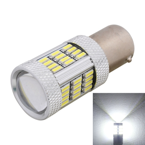 Buy 2PCS 1156 10W 540LM White Light 54 LED 4014 SMD Car Brake Light Steering Light Bulb, DC 12V for $5.69 in SUNSKY store