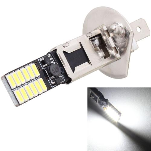 2 PCS H1 4.8W 720LM 6500K White Light 24 LED SMD 4014 Error-Free Canbus Car Clearance Lights Lamp, DC 12V