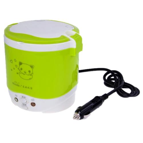 Buy OB-MRC1 Car Mini Rice Cooker / Electric Cooker, DC 12V / 100W, Volume: 1L, Green for $16.05 in SUNSKY store