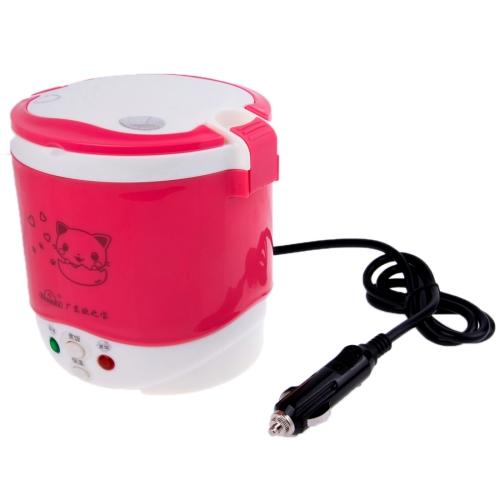 Buy OB-MRC1 Car Mini Rice Cooker / Electric Cooker, DC 12V / 100W, Volume: 1L, Magenta for $16.10 in SUNSKY store