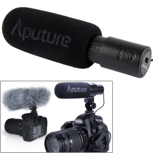 Buy Aputure V-MIC D1 Directional Condenser Shotgun Microphone, Support 360 Degree Pan / 180 Degree Tilt for $55.54 in SUNSKY store
