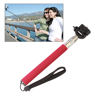 Fotopro Extendable 7 Sections Digital Camera Handheld Monopod Wand Rod, Rosy