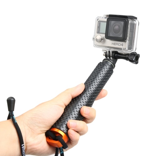 Buy Handheld Extendable Pole Monopod with Screw for GoPro HERO5 Session /5 /4 Session /4 /3+ /3 /2 /1, Xiaoyi Sport Cameras, Max Length: 49cm, Orange for $4.35 in SUNSKY store
