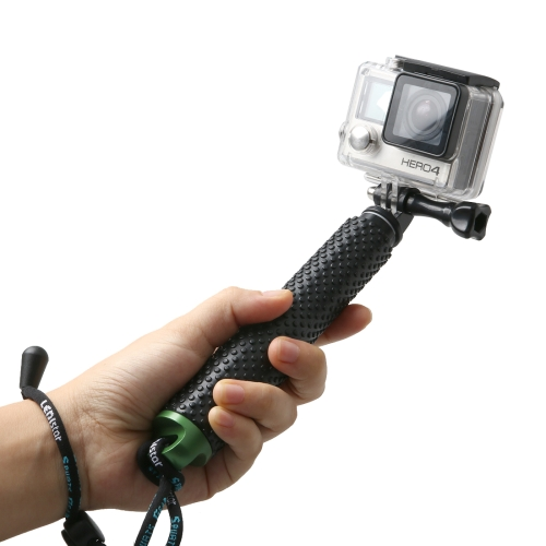 Buy Handheld Extendable Pole Monopod with Screw for GoPro HERO5 Session /5 /4 Session /4 /3+ /3 /2 /1, Xiaoyi Sport Cameras, Max Length: 49cm, Green for $3.59 in SUNSKY store