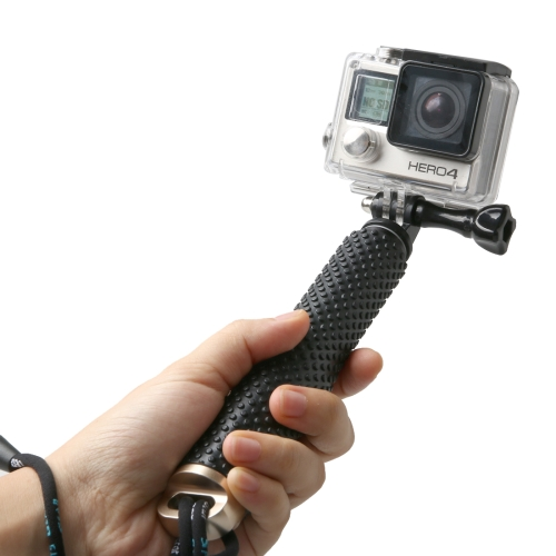 Buy Handheld Extendable Pole Monopod with Screw for GoPro HERO5 Session /5 /4 Session /4 /3+ /3 /2 /1, Xiaoyi Sport Cameras, Max Length: 49cm, Gold for $3.59 in SUNSKY store
