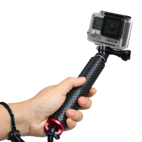 Buy Handheld Extendable Pole Monopod with Screw for GoPro HERO5 Session /5 /4 Session /4 /3+ /3 /2 /1, Xiaoyi Sport Cameras, Max Length: 49cm, Red for $3.59 in SUNSKY store