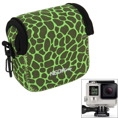 Buy NEOPine GN-5 Leopard Texture GoPro Accessories Waterproof Housing Neoprene Inner Protective Bag Camera Pouch for GoPro HERO5/ 4 /3+ /3 /2 /1, Green for $6.16 in SUNSKY store