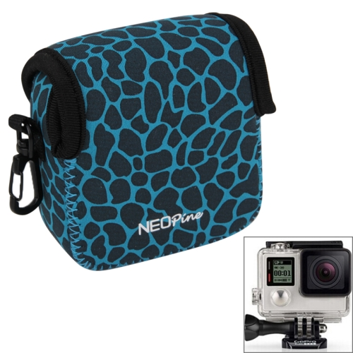 Buy NEOPine GN-5 Leopard Texture GoPro Accessories Waterproof Housing Neoprene Inner Protective Bag Camera Pouch for GoPro HERO5/ 4 /3+ /3 /2 /1, Blue for $6.16 in SUNSKY store