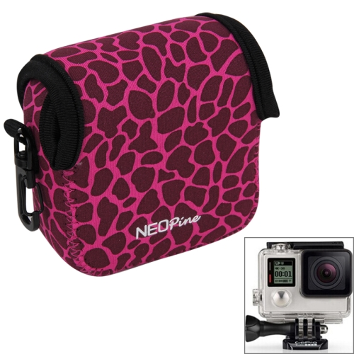 Buy NEOPine GN-5 Leopard Texture GoPro Accessories Waterproof Housing Neoprene Inner Protective Bag Camera Pouch for GoPro HERO5/ 4 /3+ /3 /2 /1, Magenta for $6.16 in SUNSKY store
