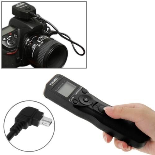 Buy YONGNUO MC-36R N3 Wireless Timer Remote Controller Shutter Release for Nikon D90 / D600 / D3000 Series / D5000 Series / D7000 Series Camera for $29.90 in SUNSKY store