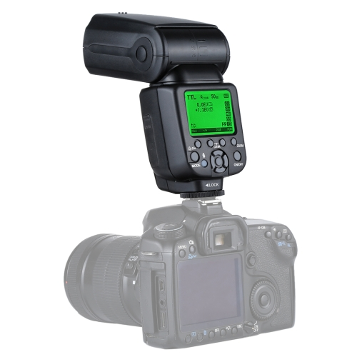 Triopo TR-960iii Flash Speedlite for Canon / Nikon DSLR Cameras
