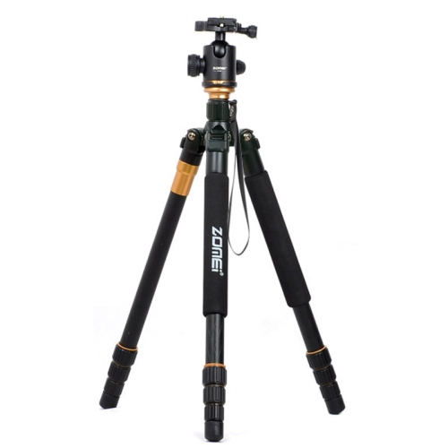 Buy ZOMEI Z688 Portable Professional Travel Magnesium Alloy Material Tripod Monopod with Ball Head for Digital Camera for $58.20 in SUNSKY store