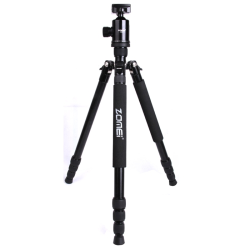 Buy ZOMEI Z888 Portable Professional Travel Aluminium Tripod Monopod with Ball Head for Digital Camera, Black for $75.05 in SUNSKY store
