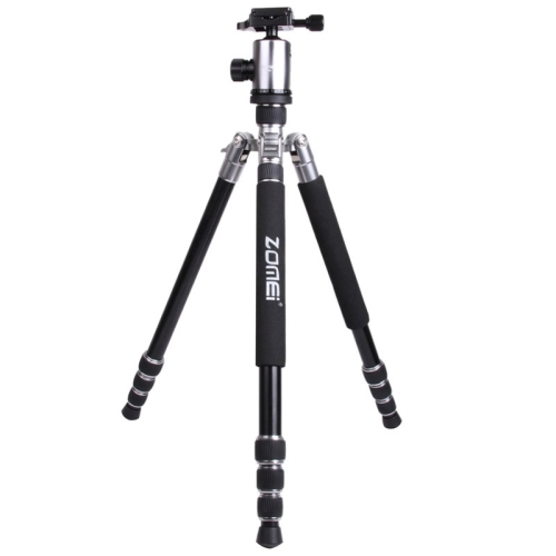 Buy ZOMEI Z888 Portable Professional Travel Aluminium Tripod Monopod with Ball Head for Digital Camera, Silver for $75.03 in SUNSKY store