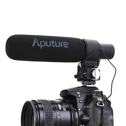 Buy Aputure V-MIC D2 Sensitivity Adjustable Directional Condenser Shotgun Microphone, Black for $87.37 in SUNSKY store