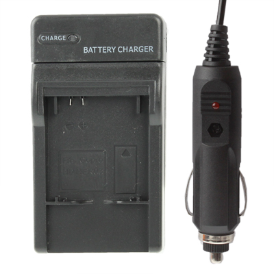 Buy Digital Camera Battery Smart Charger with Power Plug & Car Charger Travelling Set for Gopro HD HERO3, Black for $3.23 in SUNSKY store