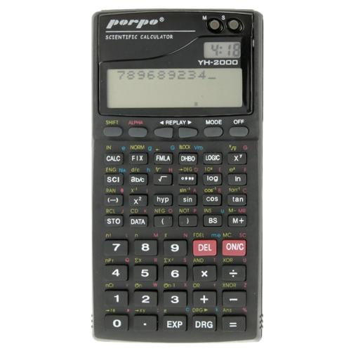 Porpo YH-2000 2.5 inch 11 Digits Function Scientific Calculator