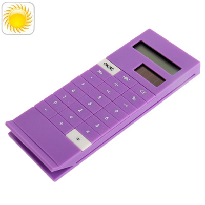 Buy Solar Calculator with Clip Function, Purple for $4.13 in SUNSKY store