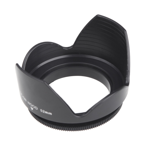 Black Screw Mount CYcaibang Camera Lens Accessories 67mm Lens Hood for Cameras