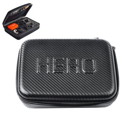 1 3//2 3+ Black CAOMING Shockproof Portable Storage Bag for GoPro HERO4 Durable