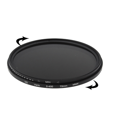 ND 2 to ND 400 Filter Durable CAOMING 49mm ND Fader Neutral Density Adjustable Variable Filter