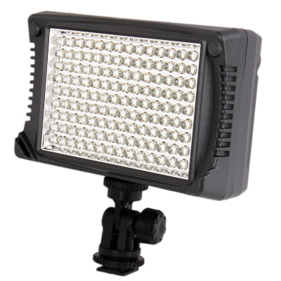 Sunsky Xt 98 126 Led Video Light With Three Color Transparent Filter Cover For Camera Video Camcorder