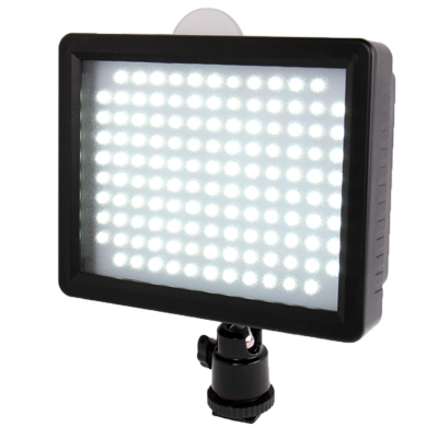 Sunsky 126 Led Video Light With Two Color Transparent Filter Cover For Camera Video Camcorder