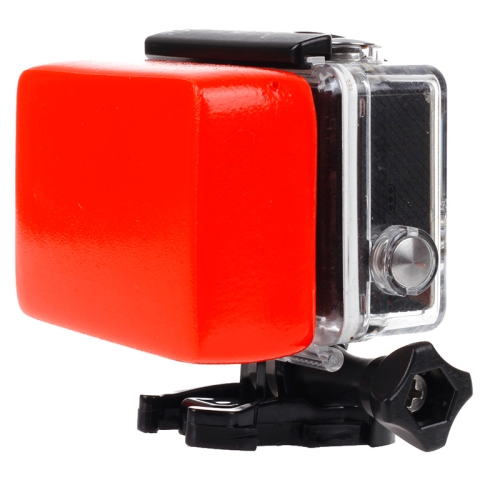 Backdoor Floaty Sponge with 3M Sticker for GoPro NEW HERO /HERO6 /5 /5 Session /4 Session /4 /3+ /3 /2 /1, Xiaoyi and Other Action Cameras(Red)