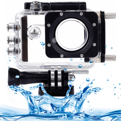 Buy Underwater Waterproof Housing Protective Case Kits with Car Charger for SJCAM SJ5000 / SJ5000 Plus / SJ5000 WiFi Sport Camera for $14.54 in SUNSKY store