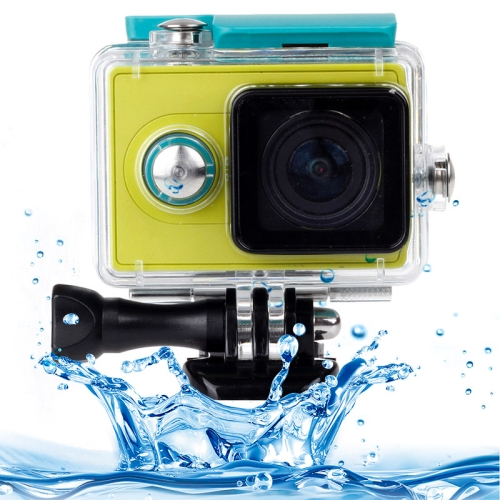 Buy XM39-C Waterproof Housing Protective Case with Buckle Basic Mount for Xiaomi Xiaoyi Sport Camera, Waterproof Depth: 45m for $8.36 in SUNSKY store