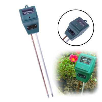 Buy 3 in 1 (Moisture + PH + Light Meter) Soil Garden Tester, Green for $3.93 in SUNSKY store