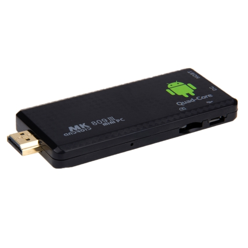 SUNSKY - MK809 III Mini PC Android 4 4 TV Stick Dongle, CPU: RK3188T
