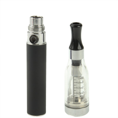 Buy D5 650mAh Single Stem USB Rechargeable Electronic Cigarette with 5ML Atomizer, Black for $5.49 in SUNSKY store