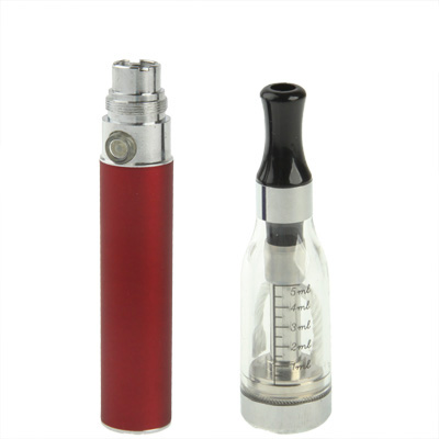 Buy D5 650mAh Single Stem USB Rechargeable Electronic Cigarette with 5ML Atomizer, Red for $5.49 in SUNSKY store