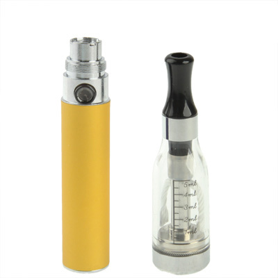 Buy D5 650mAh Single Stem USB Rechargeable Electronic Cigarette with 5ML Atomizer, Yellow for $5.49 in SUNSKY store