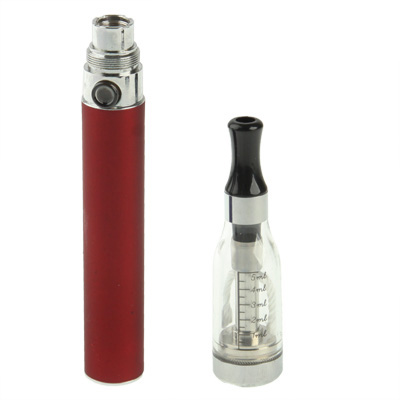 Buy D5 1100mAh Single Stem USB Rechargeable Electronic Cigarette with 5ML Atomizer, Red for $6.64 in SUNSKY store