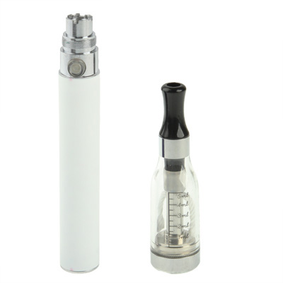 Buy D5 1100mAh Single Stem USB Rechargeable Electronic Cigarette with 5ML Atomizer, White for $6.64 in SUNSKY store