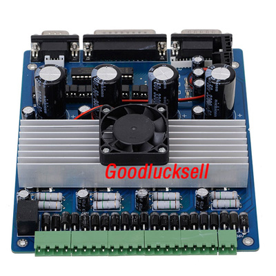 Buy 4 Axis TB6560 Driver for Nema 17/23/34 Stepper Motor for $55.44 in SUNSKY store