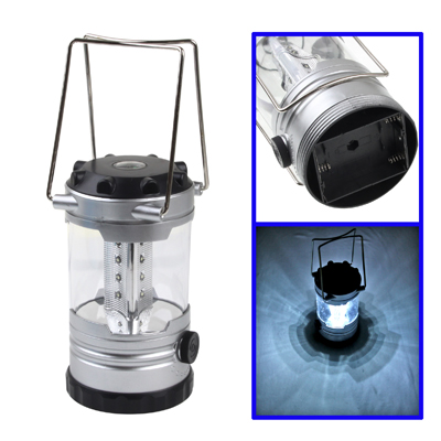 Buy 12 LED Adjustable Brightness Camping Lamp with Compass, Random Color Delivery for $3.23 in SUNSKY store