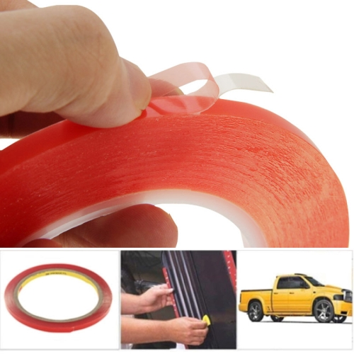 6mm 3M Double Sided Adhesive Sticker Tape for iPhone / Samsung / HTC Mobile Phone Touch Panel Repair, Length: 25m