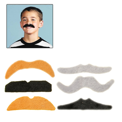 Super Funny Fake Mustache Beards Costume for Cosplay Party, 12pcs in One Pakaging, The Price is for 12pcs