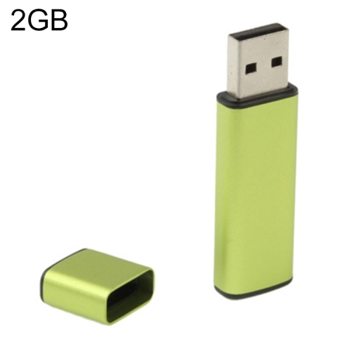 Buy Business Series USB 2.0 Flash Disk, Green, 2GB for $6.88 in SUNSKY store